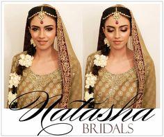 Natasha Salon Pakistan Mehndi Look