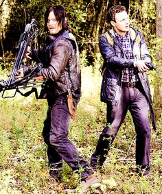 """S5 E15  """"Try""""  Daryl's  first trip with Aaron looking for prospects for Alexandria."""