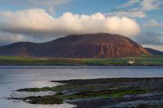Island of Hoy. Ward Hill. From Ness Point. Mainland Orkney. Scotland.