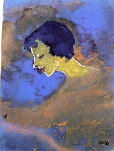 Emile Nolde Emil Nolde, Paul Gauguin, Art Moderne, Best Artist, Printmaking, German, Watercolor, Danish, Portraits