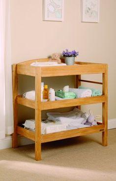 EAST COAST Clara Dresser Changing Unit (Antique Pine)
