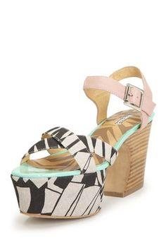 Monacco Platform Sandal