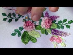 Getting to Know Brazilian Embroidery - Embroidery Patterns Hand Embroidery Projects, Hand Embroidery Videos, Hand Embroidery Flowers, Embroidery Stitches Tutorial, Silk Ribbon Embroidery, Embroidery For Beginners, Hand Embroidery Designs, Custom Embroidery, Embroidery Art