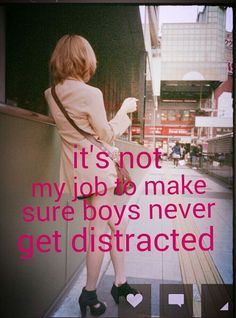 Stop Telling Girls To Cover Up. Tell Boys To Control Their Urges.