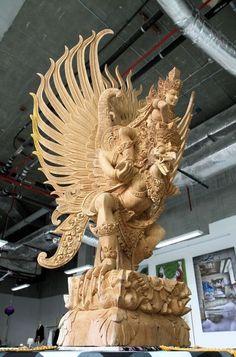 asiatische Holzkunst