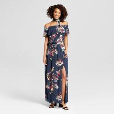 04d5ba61db3 Women s Off the Shoulder Maxi Dress - Xhilaration Target Maxi Dresses