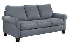 Denim (color) Zeth Queen Sofa Sleeper - $497 for Mom's