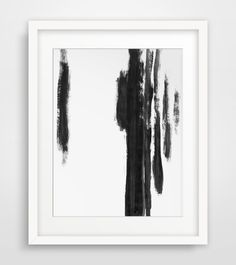 Abstract Painting, Minimal Painting, Black Painting, Black and White, Abstract Art, Fall Decor, Fall Trends, Trending, New Items by MelindaWoodDesigns on Etsy https://www.etsy.com/listing/454754502/abstract-painting-minimal-painting-black