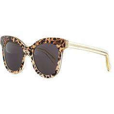 Illesteva Holly Cat-Eye Sunglasses