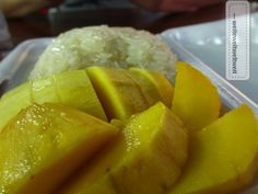 Sweet Sticky Rice with Mango - a delicious dessert from Thailand