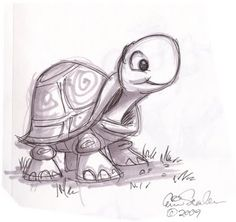 Cute Turtle sketch!!