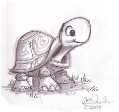 Cute Turtle sketch!!