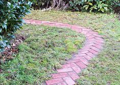 Create this DIY herringbone brick path ll The Home Depot Garden Club