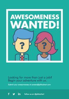 Job Hiring Poster Design Template Click To Customize Hiring - Job flyer template word