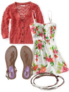 I don't wear dresses much, but this is good fir dressing up a bit!