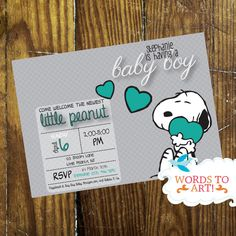 Hey, I found this really awesome Etsy listing at https://www.etsy.com/listing/198616939/printable-diy-custom-snoopy-baby-shower