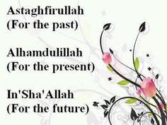 Astagfirullah...Alhumdulillah.....subhana'allah.