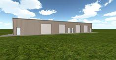 3D #architecture via @themuellerinc http://ift.tt/2gWjsjU #barn #workshop #greenhouse #garage #DIY