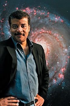 Neil deGrasse Tyson, whose professional research interests are broad, but include star formation, exploding stars, dwarf galaxies, and the structure of our Milky Way.