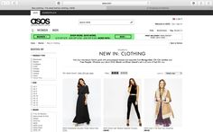 Something you cannot take away from online shopping is how orderly it is. You are able to view the newest items with ease and filter out so you can find exactly what you are looking for (instead of getting side tracked and buying more things).