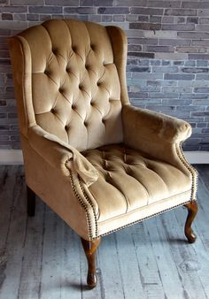 Golden Arm Chair