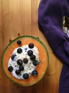 Cantaloupe Breakfast Bowl