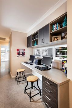 Kids Zone - contemporary - Home Office - Perth - Jodie Cooper Design
