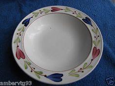 Antique Sweden Gustavsberg STIG Lindberg Ranka Soup Plate Handmade Pottery   eBay