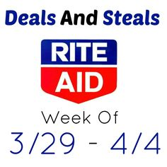 Learn to shop for free/cheap this week at Rite Aid. Deals this week include cheap Soft Soap, Fiji Water. Combos, jelly beans and more.