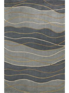 Kas Signature Waves Area Rug - This Seaside 9142 rug would make a wonderful addition to any home. Learn why so many decide to buy from RugStudio Small Area Rugs, Modern Area Rugs, Contemporary Area Rugs, Home Carpet, Rugs On Carpet, Carpets, Carpet Dining Room, Discount Area Rugs, Rug Texture