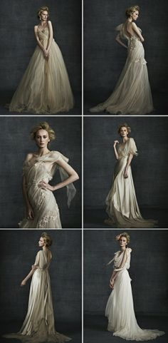 Bridal Gown elegant wedding gowns Samuele Couture 2013 wedding dress 2 Do You Have All Of Your Garde Stunning Wedding Dresses, Beautiful Gowns, Romantic Dresses, Flowy Dresses, Portrait Inspiration, Mode Inspiration, Wedding Inspiration, Photography Poses, Fashion Photography
