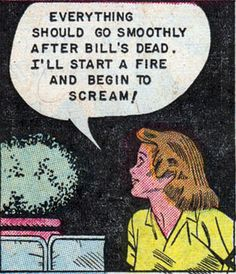 Ethel plans a fire....and murder!