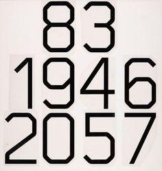 Wim Crouwel / Gridnik / Typeface / 1974