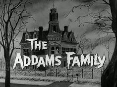 The Addams Family mansion has had many incarnations, beginning with a cartoon by Charles