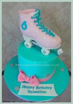 Roller Skate Cake by Mel_SugarandSpiceCakes