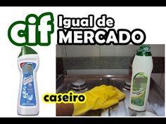 CIF CASEIRO IGUAL DE MERCADO MARAVILINDOOO, DEIXA TUDO LIMPO E BRILHANDO - SUPER FACIL - YouTube