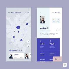 What do you think of this service providers app? Tag a fellow designer who would love it. Design by @cubertodesign . . . . #UserInterfaceIndia #UIDesignAhmedabad #DesignAgencyIndia #MobileDesignIndia #WebDesignIndia www.henixweb.com/ux-design-services.html