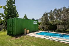 """Topshell Storage containers are spacious and secure.   Following Features:  - #Storage #containers are 6m x 2,4m - All our containers are '#cargo worthy' (this means they are air- and water-tight) - Neatly painted in the Topshell corporate green colour - Steel construction - All stores are equipped with our special padlock """"lock box"""" preventing forced entry - Wooden floors - We can move your store to your next site with up to 35 tons of equipment on board  #topshell #containers #onsite…"""