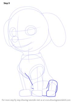 Learn How to Draw Marshall from PAW Patrol (PAW Patrol
