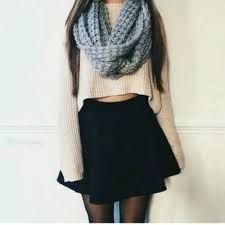 Image result for high waisted skirt fashion