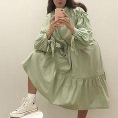 Teen Fashion Outfits, Mode Outfits, Modest Fashion, Hijab Fashion, Korean Fashion, Girl Fashion, Womens Fashion, Fashion Design, Daily Dress