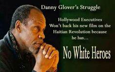 No white heroes!
