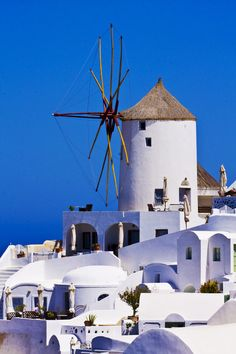 This is my Greece | Windmill at Oia, Santorini