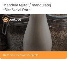 Mandula tejital / mandulatej Prunus, Cleaning Supplies, Dishes, Bottle, Cleaning Agent, Tablewares, Flask, Peach, Dish