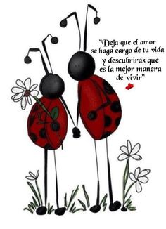 〽️ Deja que el amor se haga cargo de la vida y descubrirás que es la mejor manera de vivir.