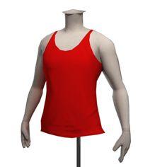 Drop Science Racer Back Vest - Red