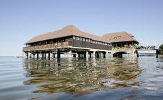 St.Gallen in der Schweiz, liegt unweit des #Bodensee St Gallen, Mansions, House Styles, Home Decor, Old Town, Switzerland, Places, Architecture, Viajes