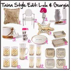 Taina Style Edit: Lulu & Georgia http://tainastyle.blogspot.com/2015/01/taina-style-edit-lulu-georgia.html #landgwishlist