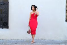 Get this look: http://lb.nu/look/7788852  More looks by K T R: http://lb.nu/ktrstyle  Items in this look:  Ktr Collection The Valerie Bodycon Dress, Neiman Marcus Christian Louboutin   #chic #classic #elegant #class #lookoftheday