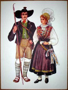 Slovenia Folk Costume - Bled